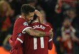 """Į pergalių kelią sugrįžę """"Liverpool"""" vėl pakilo į pirmą """"Premier"""" lygos vietą"""