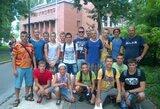 Lietuvos jaunimo vandensvydžio rinktinė Vengrijoje užėmė trečią vietą