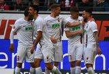 """""""Eintracht"""" namuose neatsilaikė prieš """"Augsburg"""" futbolininkus"""
