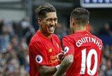 """""""Liverpool"""" nebenori dar vienos P.Coutinho istorijos: R.Firmino bus siūloma sutartis iki karjeros pabaigos"""