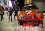 Pamatykite: A.Juknevičius prieš Dakaro ralį pristatė naująjį automobilio dizainą