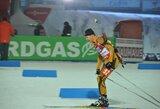 Biatlonininkas T.Kaukėnas pasaulio taurės etape – 34-as