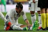 """""""Real"""" patvirtino, kokio rimtumo traumą patyrė G.Bale'as"""