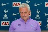 """Eksperto komentarų apie H.Kane'ą suerzintas J.Mourinho: """"Drogba per 4 sezonus įmušė 186 įvarčius"""""""