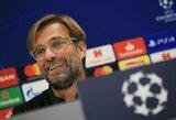 "J.Kloppas nebijo ""Porto"" iššūkio: ""Mes esame užsivedę"""
