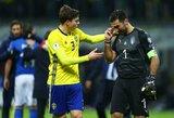 Legenda sugrįžta? G.Buffonas ruošiasi ir vėl rungtyniauti Italijos rinktinėje
