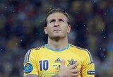 Karjerą Ukrainos rinktinėje baigia ir A.Voroninas