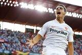 """Europos lyga: raudonos kortelės ir """"Sevilla"""" pergalė prieš """"Lazio"""""""