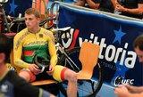 G.Serafinas Europos jaunių ir jaunimo dviračių treko čempionate – septintas