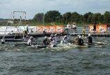 Europos kanupolo čempionate Lietuvos jaunimo rinktinė šventė vienintelę pergalę
