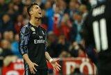 Vokietijos dienraštis teigia, kad C.Ronaldo išprievartautai merginai už tylą sumokėjo beveik 400 tūkstančių