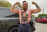 """UFC prezidentas užsiminė apie C.McGregoro sugrįžimą: airis planuoja pasirodyti """"kovų saloje""""?"""