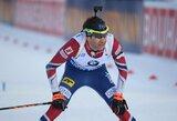 Legendos karjera pakibo ant plauko: O.E.Bjoerndalenas neiškovojo vietos Pjongčango olimpiadoje