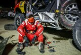 S.Loebui gana: legendinis WRC čempionas traukiasi iš Dakaro ralio