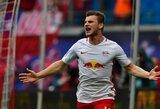 """Vokietijoje pergales iškovojo """"Leipzig"""" ir """"Hoffenheim"""""""