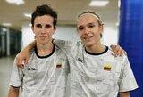 Lietuviai baigė pasirodymus Europos jaunių badmintono čempionate