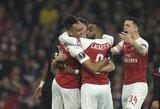 """""""Arsenal"""" reikalauja UEFA pasiaiškinimo dėl abejotino Europos lygos finalo vietos pasirinkimo"""