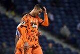 """Čempionų lygos aštuntfinalyje – grubi R.Bentancuro klaida ir """"Juventus"""" pralaimėjimas prieš """"Porto"""""""