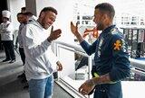 Brazilijos rinktinė sulaukė ypatingo svečio – komandą aplankė Neymaras