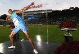 """Jamaikos sprinto žvaigždė U.Boltas laimėjo """"Deimantinės lygos"""" varžybas Osle"""