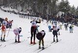 Pasaulio jaunių ir jaunimo slidinėjimo čempionato starte geriausiai sekėsi S.Terentjevui