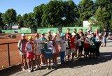 A.Sabonis - reitinginio vaikų teniso turnyro Klapėdoje nugalėtojas