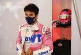 Koronavirusu užsikrėtęs S.Perezas turėtų praleisti dvejas lenktynes, aiškėja, kas jį pakeis