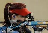 Europos jaunimo šaudymo čempionate lietuvės liko toli nuo lyderių