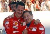 "Ilgametis ""Ferrari"" komandos vadovas J.Todtas: ""Su M.Schumacheriu žiūrėjome lenktynes per televiziją"""
