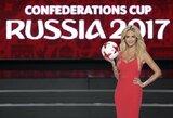 """Buvusi """"Mis Rusija"""" ir pasaulio čempionato ambasadorė tikina, kad sirgaliams neteks nusivilti saugumu"""