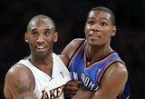 """K.Durantas kalbėjo apie K.Bryantą: """"Jaučiuosi lyg pažinočiau jį visą savo gyvenimą"""""""