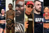 """""""UFC 245"""" pristatymas ir prognozės: pirmasis K.Usmano titulo gynimas, M.Holloway mūšis prieš UFC nepralaimėjusį A.Volkanovskį ir A.Nunes suteiktas revanšas įveiktai varžovei"""