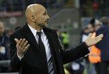 """L.Spalletti įvardijo priežastis, dėl kurių """"Inter"""" pasitraukė iš Čempionų lygos"""