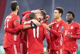 """Čempionų lyga: """"Bayern"""" ir """"Man City"""" grupių etapą užbaigė pergalingai"""