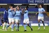 """Superkompiuterio prognozė: """"Man City"""" su 83 tšk. laimės """"Premier"""" lygą, """"Chelsea"""" ir """"Arsenal"""" bus toli nuo lyderių"""