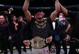 """Paviešinti """"UFC 216"""" turnyro kovotojų uždarbiai"""