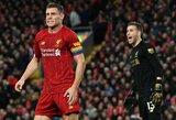 """Naujo kontrakto su """"Liverpool"""" dar neturintis J.Milneris prakalbo apie savo ateitį"""