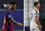 L.Messi ir C.Ronaldo pirmą kartą po 15 metų pertraukos nepateko į Čempionų lygos pusfinalį