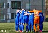 """FK """"Vilnius"""" išvykoje neatsilaikė prieš FC """"Džiugą"""""""