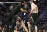 C.McGregoras pirmą kartą viešai prabilo apie masines muštynes, kilusias po kovos su C.Nurmagomedovu