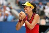 """Fantastika: 18-metė E.Raducanu nugalėjo Tokijo olimpinę čempionę ir pateko į """"US Open"""" pusfinalį"""