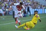 """Prancūzijos pirmenybėse – rungtynių pabaigoje varžovus sutriuškinę """"Monaco"""" iškovojo pirmąją pergalę (atnaujinta)"""