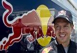 """S.Vettelis: """"Bolido dugnas neturi didelės įtakos lenktynėse"""""""