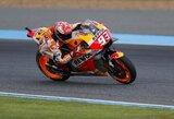 """Tailando GP kvalifikacijoje M.Marquezas išplėšė """"pole"""" poziciją iš V.Rossi rankų"""