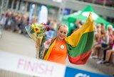 Dopingo kontrolieriams įkliuvusi lietuvė prarado pasaulio čempionės titulą