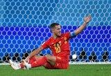 """Belgijos rinktinės treneris: """"Hazardas puikiai tiktų """"Real"""" komandai"""""""