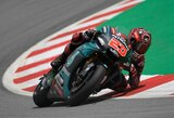 """F.Quartararo antrą kartą karjeroje laimėjo """"MotoGP"""" kvalifikaciją"""