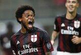 """Vos po pusmečio """"Milan"""" yra pasirengę parduoti L.Adriano"""