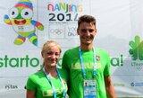 Irkluotoja S.Petrikaitė pateko į Nandzingo jaunimo olimpinių žaidynių pusfinalį