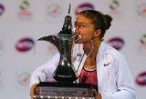 S.Errani teniso turnyro Dubajuje finale įspūdingai sutriuškino varžovę